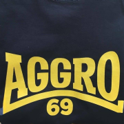 Aggro 69 T-Shirt (Black & Yellow)